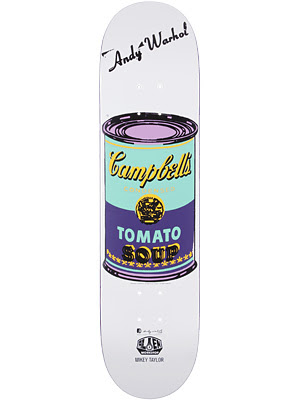 Andy Warhol Alien Workshop Skate Deck