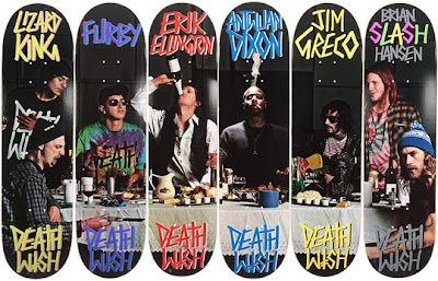 Deathwish Last Supper Skateboard Decks