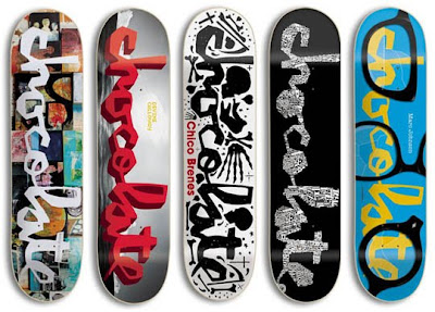 Chocolate Skateboards Dump Chunk Skate Decks