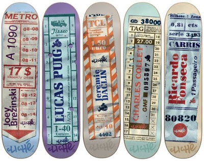 Cliche Skateboards Bus Ticket Skate Decks