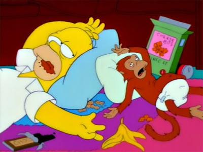 Homer and Monkey
