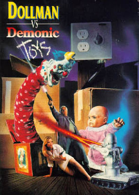 Demonic Toys vs Dollman Poster