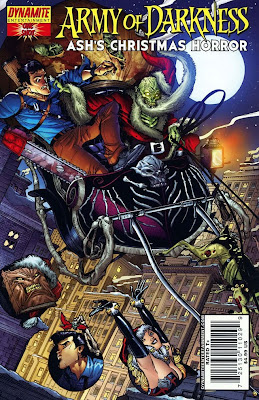 Army of Darkness Ash's Christmas Horror Graphic Novel