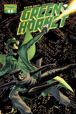 Kevin Smith's Green Hornet Cover Art