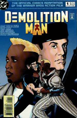 Demolition Man Comic Book