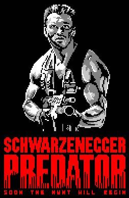 predator nes screen
