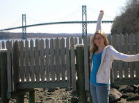 click here to see the Full Size image of eJP's huge smile, on the Roger Williams University campus, with the Mt. Hope bridge in the background