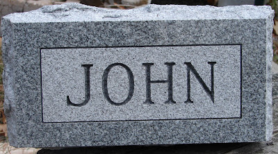 click here to see the Full Size of this image of Johnny's flat marker