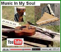 click here for Kevin's YouTube show-and-tell of his instruments for the workship