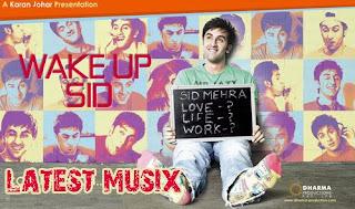 Download Wake Up Sid Hindi Movie MP3 Songs