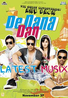 Download De Dana Dan Hindi Movie MP3 Songs