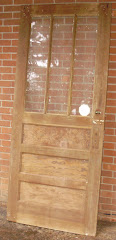 Craftsman heart pine entry door - SOLD!