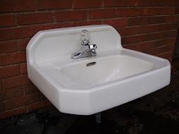 Kohler vintage 1955 bath sink
