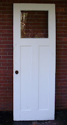 "Craftsman entry door 29 1/4"" x 82"