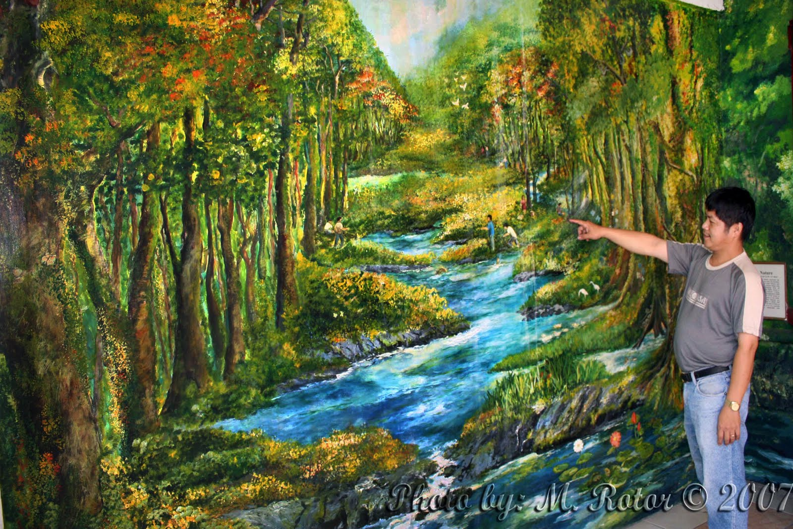 Nature wall murals 2017 grasscloth wallpaper for Mural nature