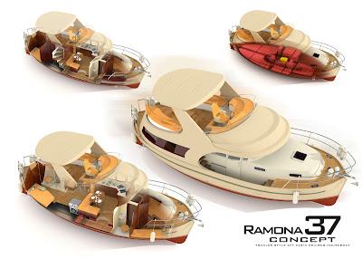 projektowanie i budowa jachtów i łodzi: Jacht Ramona 37 by Sławomir Kot