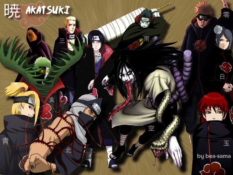 Akatsuki Wallpaper - Anime Manga Naruto shippuden for wallpaper computer