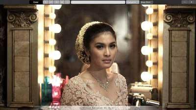 sinetron nurhaliza - Sandra Dewi
