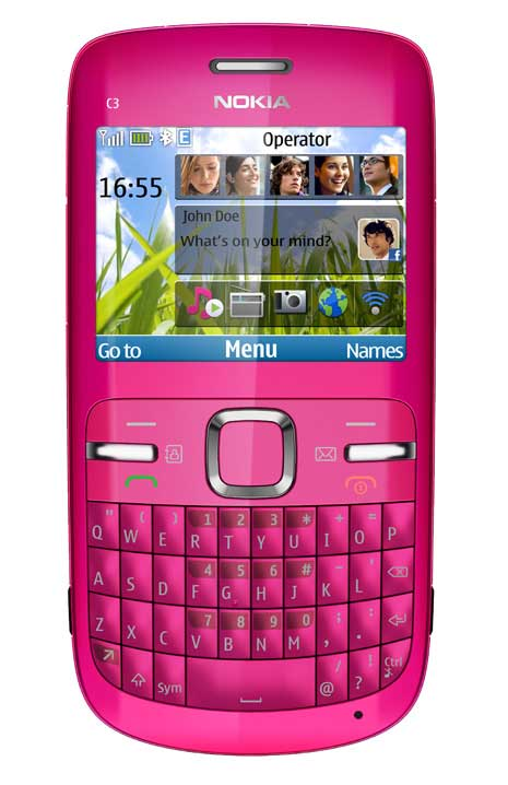 Nokia C3 - Harga dan Spesifikasi Nokia C3
