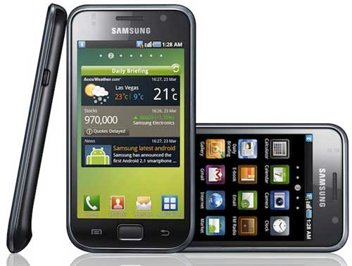 Samsung Galaxy S i9000 - Spesifikasi & Harga Samsung Galaxy S