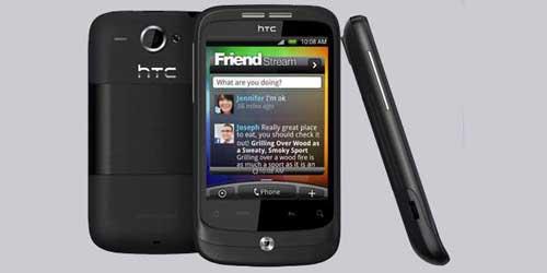 Harga Spesifikasi HTC Wildfire
