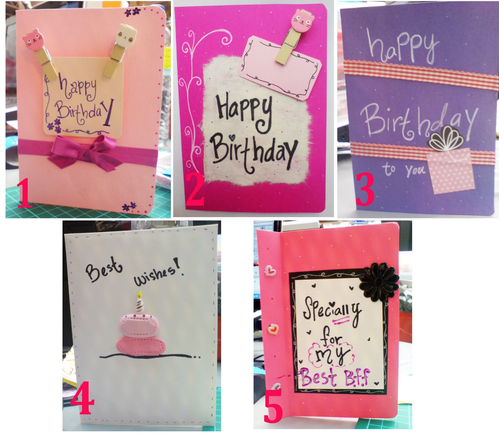 jcvk Inspire birthday card for girl friend
