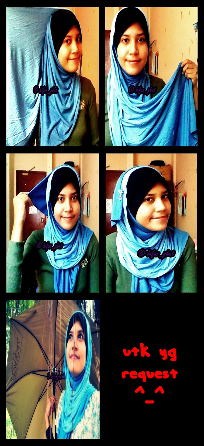 Cara Pakai Cotton Shawls - Requested by customers ::