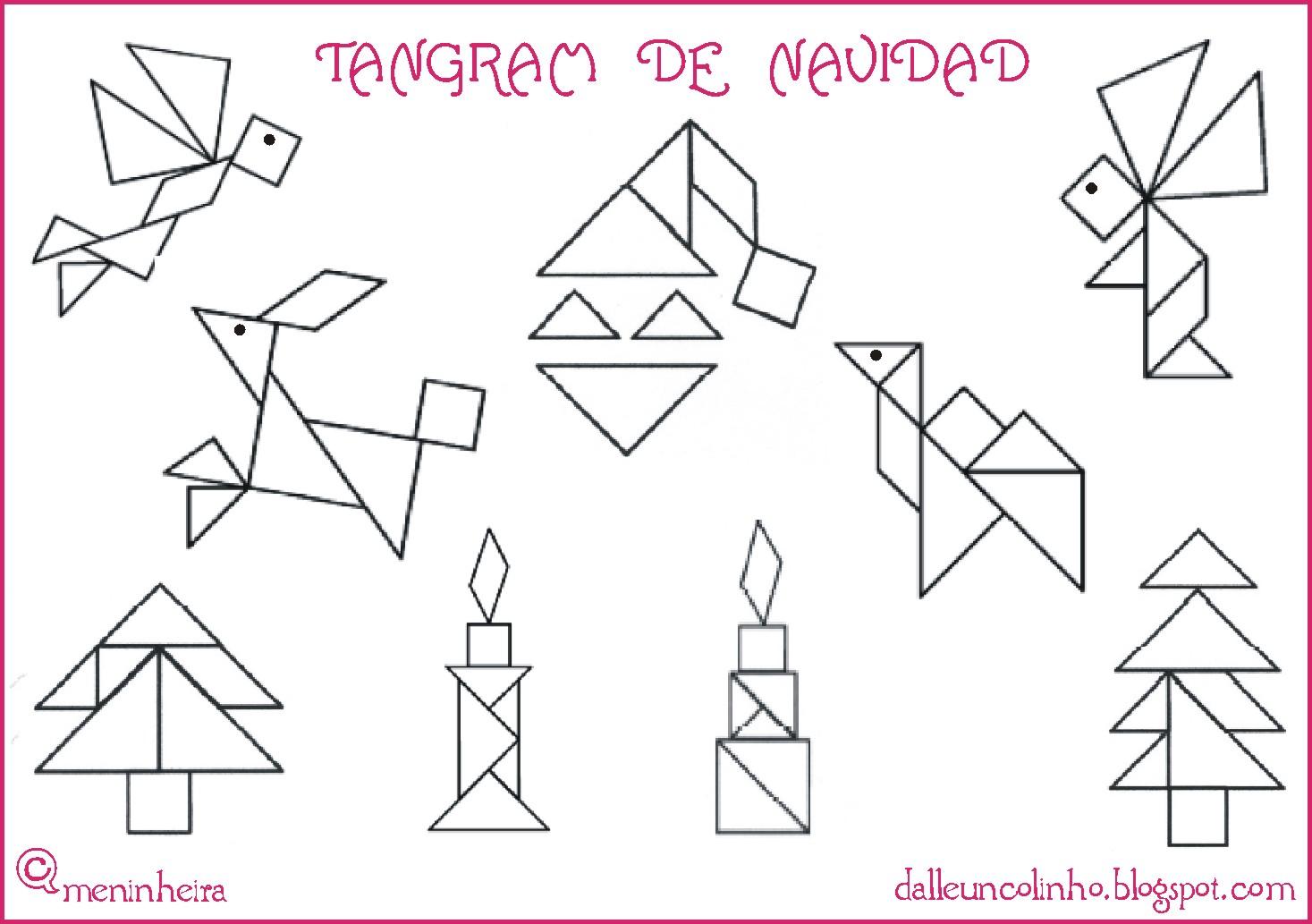 Homeschooling Spain: Trabajar con el Tangram