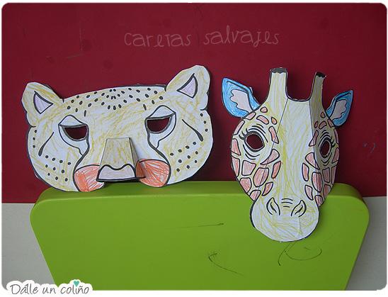 Moldes de animales salvajes - Imagui