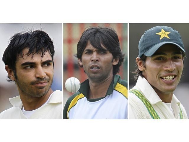 Accused pakistani cricketers