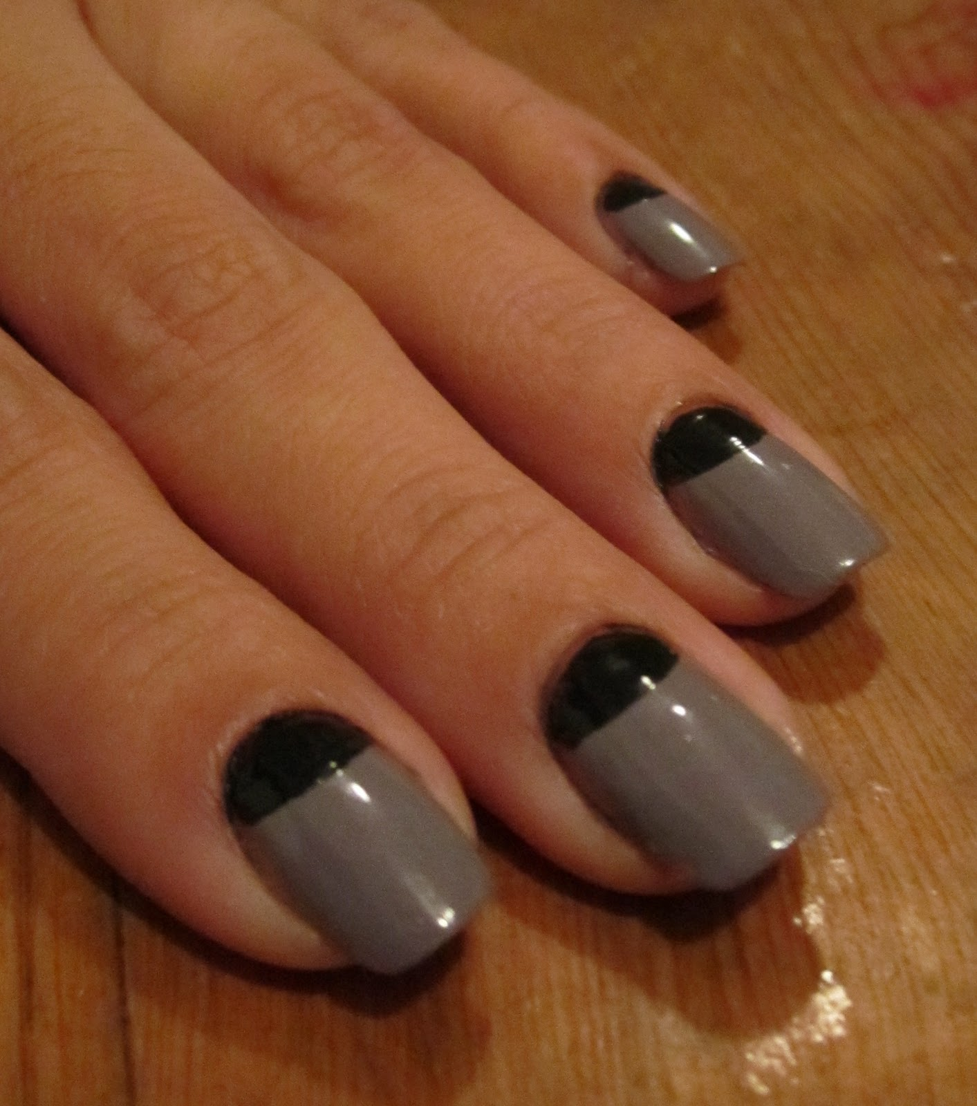Cult Nails Blog: Half Moon Manicure