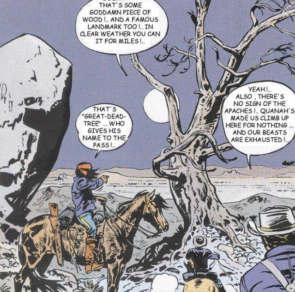 Enciclopedia visual del teniente blueberry great dead tree for Teniente blueberry