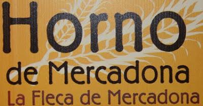 Display del logotip forn mercadona