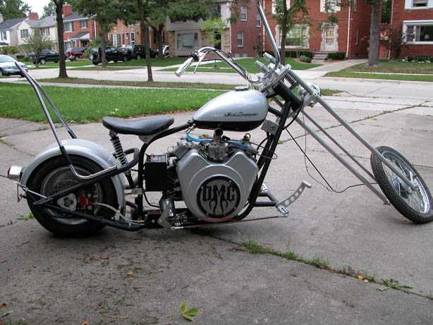 Detroit Mini Choppers Modification title=