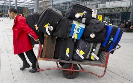 preparing for a long haul flight
