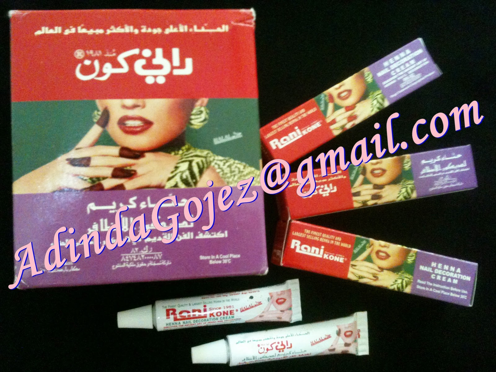Adinda Gojez Fashion Amp Beauty Inai Express Halal Cepat Cantik