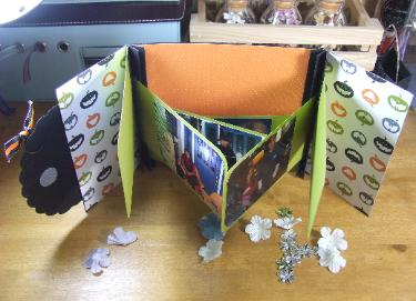 Inspired and UnscriptedHalloween Gate Fold Double Accordion Mini