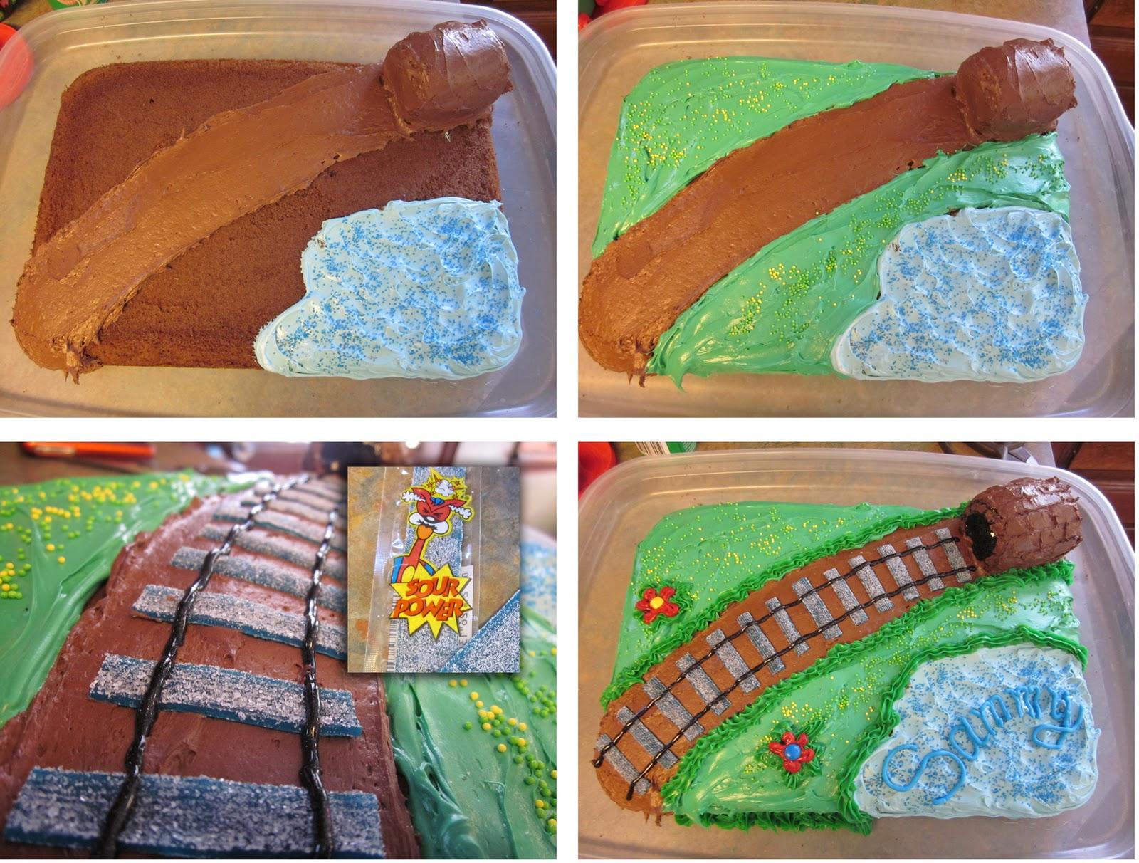 How To Make A Fruit Filled Recrangular Cake