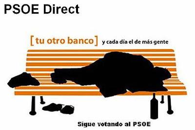 PSOE Direct. Tu otro banco, y cada día el de más gente. Sigue votando al PSOE