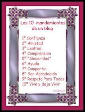 LO 10 MANDAMIENTOS DE TU BLOG.
