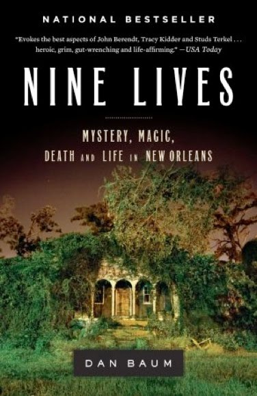 nine lives by dan baum an Paul sanchez's musical adaptation of dan baum's book has yielded a double- cd and, maybe, a musical.