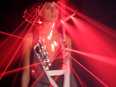 Hussein Chalayan's Laser Dress, 2008