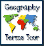 Monthly Geography Terms Tour