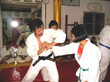 Shorinji Kempo practice at Tai Fu Do Thailand