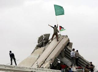 gaza hamas flag battle palestine israel