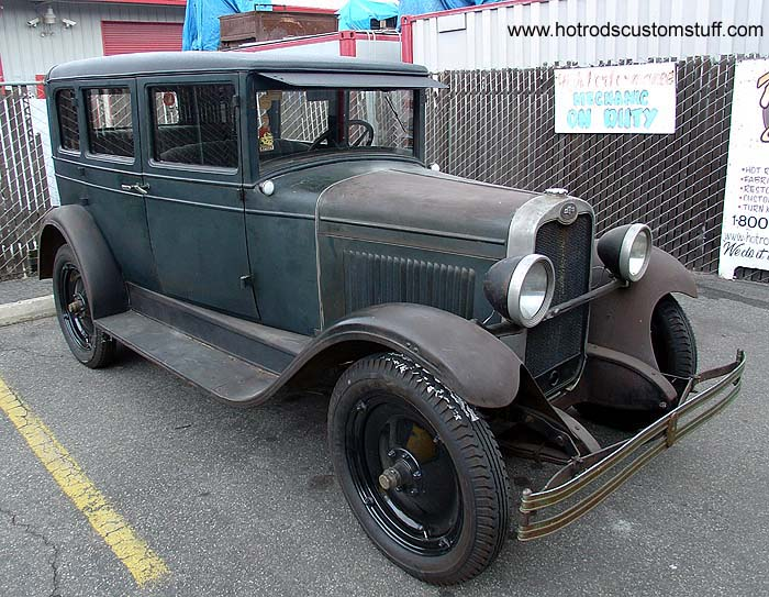 1928 chevy 2 door sedan