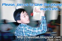 Let's save his life