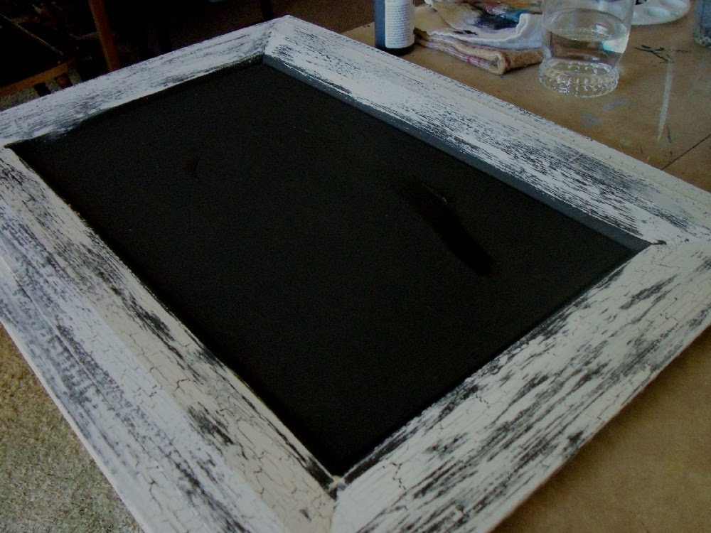 make the best of things cheap elmer 39 s glue crackle chalkboards. Black Bedroom Furniture Sets. Home Design Ideas