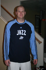 Tay's new Jazz shirt