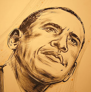 Comic Pictures of Obama